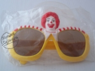 1980s Sunglasses RONALD MCDONALD MCDONALDS CORP Children Sealed Vintage