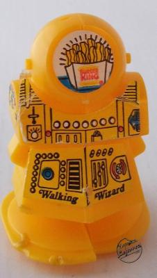 Burger King Walking Wizard Robot Giveaway Toy