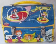 Rare 1963 JETSONS Domed ALADDIN LUNCHBOX Metal, NO Thermos