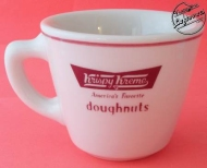 Vintage Krispy Kreme Vintage Restaurant China Coffee Cup