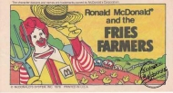MCDONALD'S 1978 RONALD MCDONALD and the Fries Farmer Vintage Comic