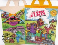 "1980's MCDONALD'S Happy Meal Box ""Going Places"" Unused"
