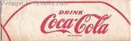 VINTAGE 1940s HAT DRINK COCA-COLA SODA JERK PAPER CAP Paperlynen OHIO
