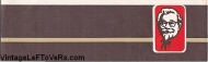 VINTAGE 1970s HAT KENTUCKY FRIED CHICKEN RESTAURANT CELLUCAP BROWN PAPER CREW CAP