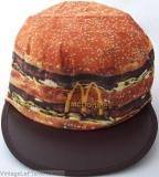 VINTAGE 1984 MCDONALDS BIG MAC HAT CREW CAP ADVERTISING PROMOTION Unused