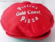 VINTAGE HAT PIETROS GOLD COAST PIZZA PARLOR RESTAURANT CREW CAP RED