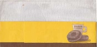 VINTAGE 1970s WINCHELLS DONUT HOUSE CELLUCAP YELLOW PAPER CREW CAP HAT