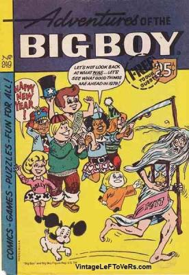 Adventures of the BIG BOY #249 Jan 1978 Vintage Comic Book