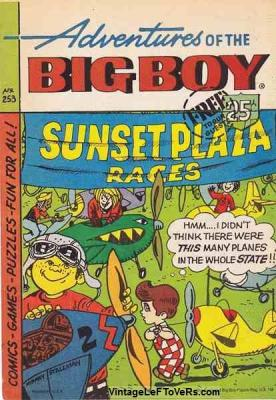 Adventures of the BIG BOY #253 May 1978 Vintage Comic Book