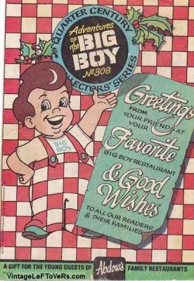 Adventures of the BIG BOY #308 Dec 1982 Vintage Comic Book
