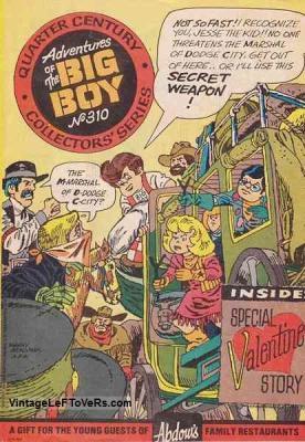 Adventures of the BIG BOY #310 Feb 1983 Vintage Comic Book