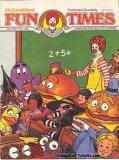 McDonaldland Fun Times Vol 2 No 1 Fall 1980 Magazine for Children Vintage