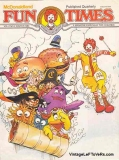 McDonaldland Fun Times Vol 2 No 2 Winter 1980 Magazine for Children Vintage