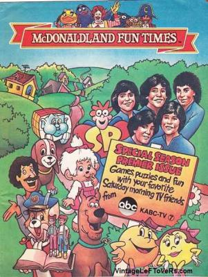 McDonaldland Fun Times Vol 4 No 1 Fall 1983 Magazine for Children Vintage