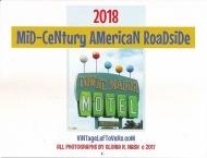 Mid-Century American Roadside 2018 Wall Calendar