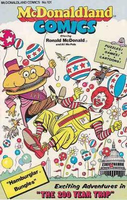McDONALDLAND COMICS No. 101, 1976, RONALD McDONALD and ALL HIS PALS