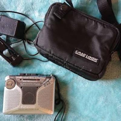 Rare Panasonic RQ-A220 Cassette Player – Recorder with Stereo FM-AM Radio