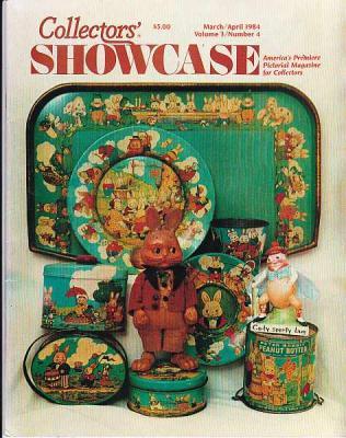 1984 Collector's Showcase Magazine w/ Fast Food Memorabilia Article