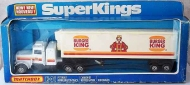1978 Matchbox SuperKings Burger King Truck, Boxed