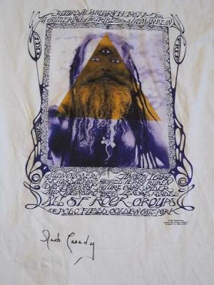 Mouse & Kelley 1990's T-Shirt, Jack Cassidy signed, Mouse & Kelley designed