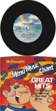 Chaka Khan & Rufus, McDonald's 1981 Menu Music Chant, promotional vinyl record