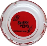 Vintage 1960's Ashtray SNEAKY PETE'S on the Sunset Strip Heavy Glass