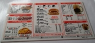 1972 A&W Drive In Car Hop Plexiglas Menu Board, Vintage