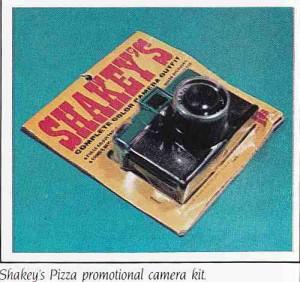 Shakeys Pizza Vintage Camera